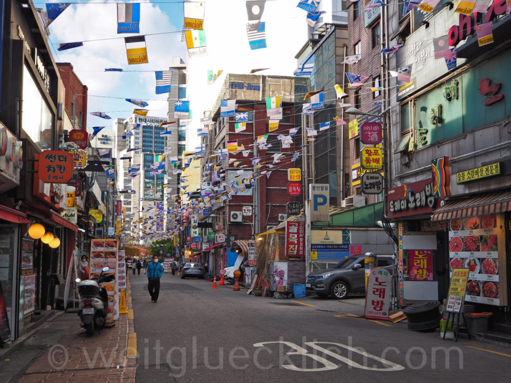 Weltreise 2020 Suedkorea Seoul Gwanghuidong Central Asia Street russisches Viertel