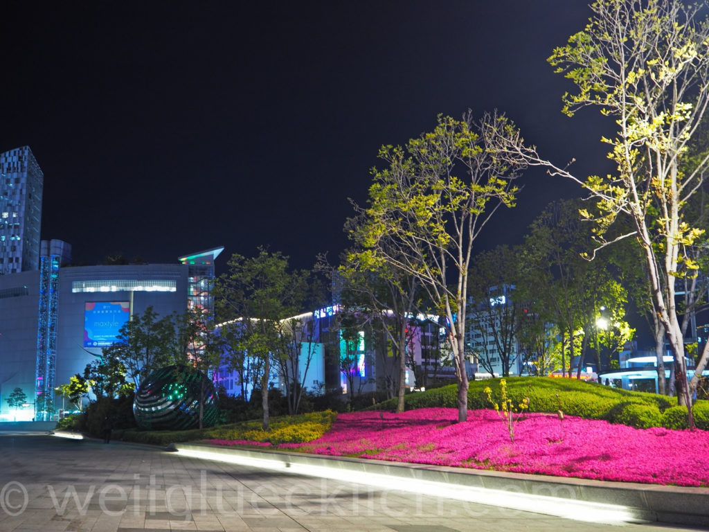 Weltreise 2020 Suedkorea Seoul Dongdaemun Design Plaza Culture and History Park