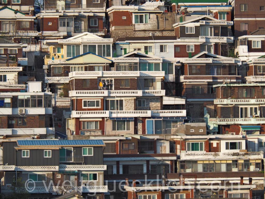 Weltreise 2020 Suedkorea Seoul housing Wohnhaeuser