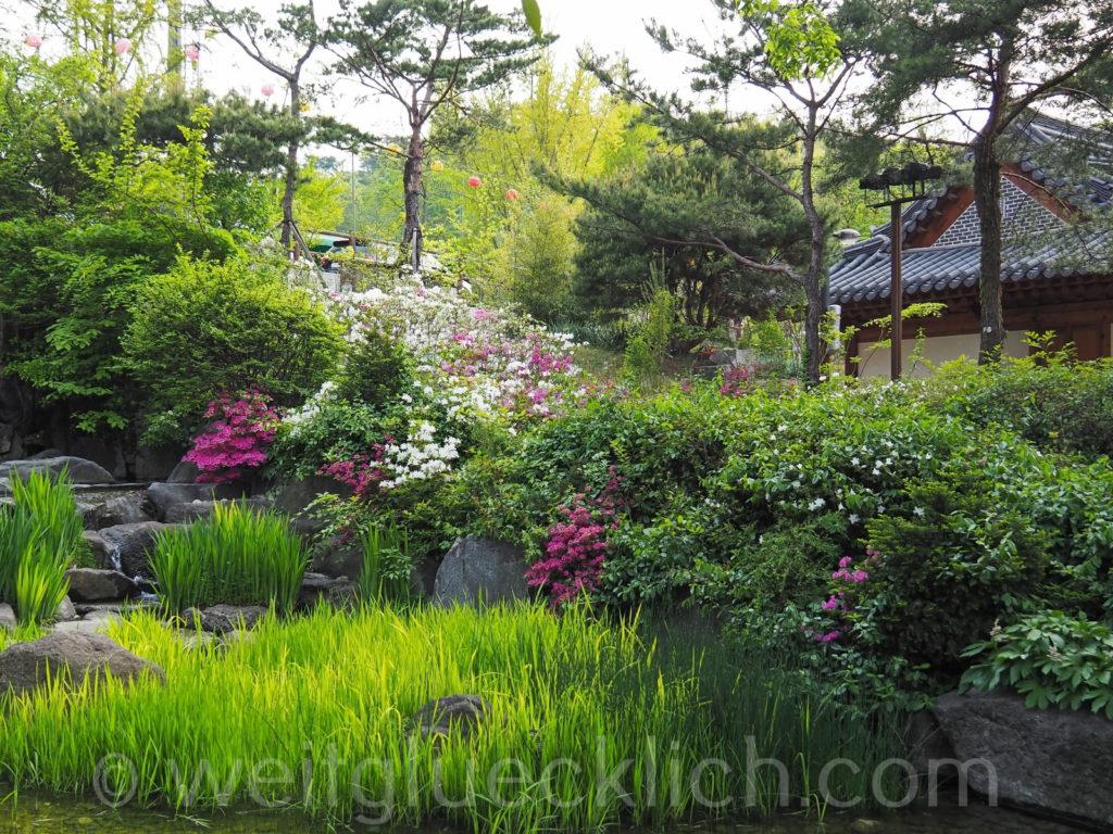 Weltreise 2020 Suedkorea Seoul Dongdaemun Jangchungdan Park