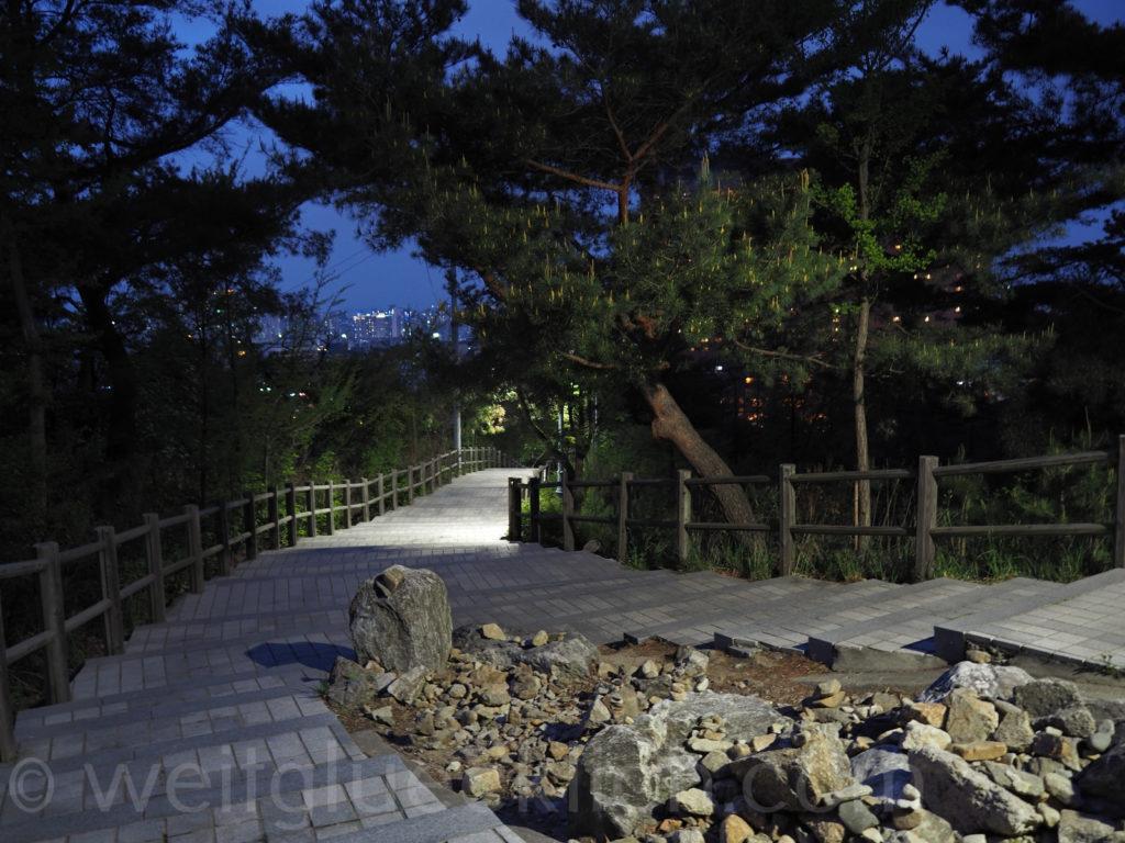 Weltreise 2020 Suedkorea Seoul Namsan Mountain Park