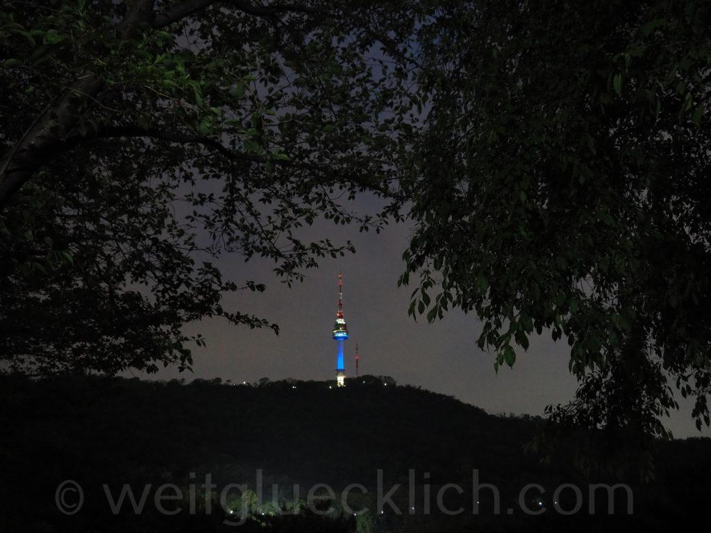 Weltreise 2020 Suedkorea Seoul Namsan Mountain Park Seoul Tower