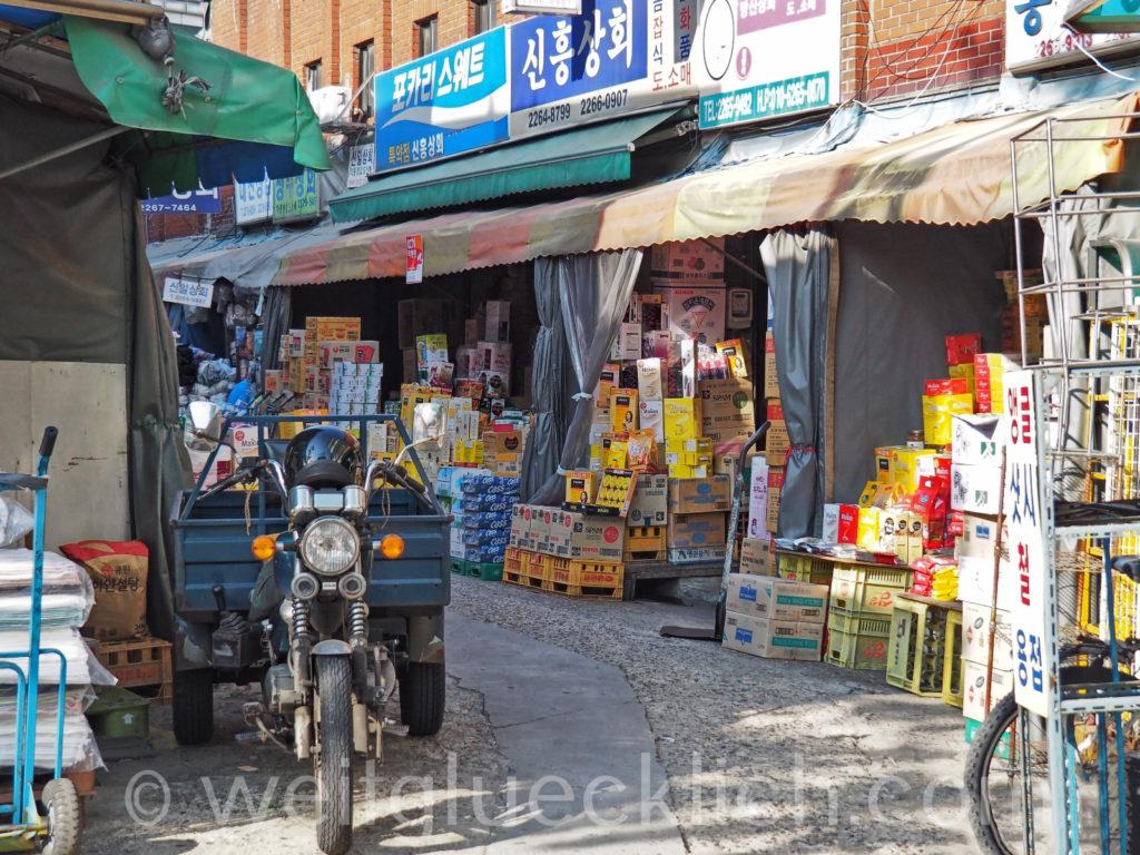 Weltreise 2020 Suedkorea Seoul Gwangjang Market