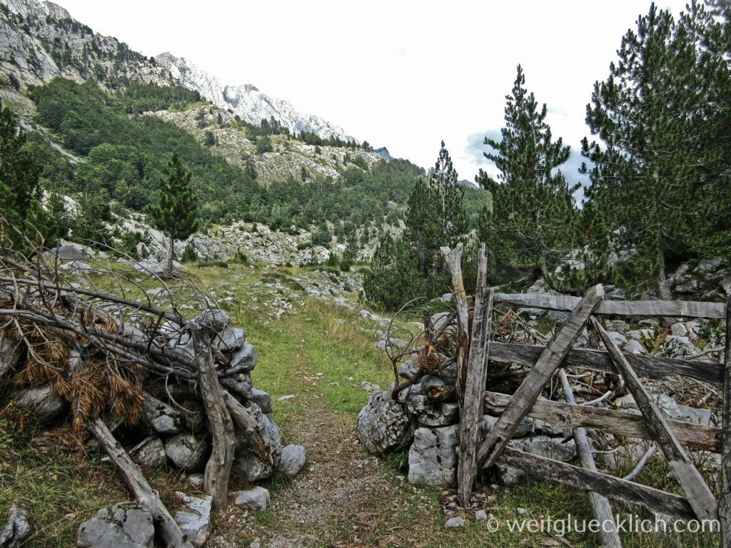 Peaks of the balkans Albanien ehemals verbotene Zone