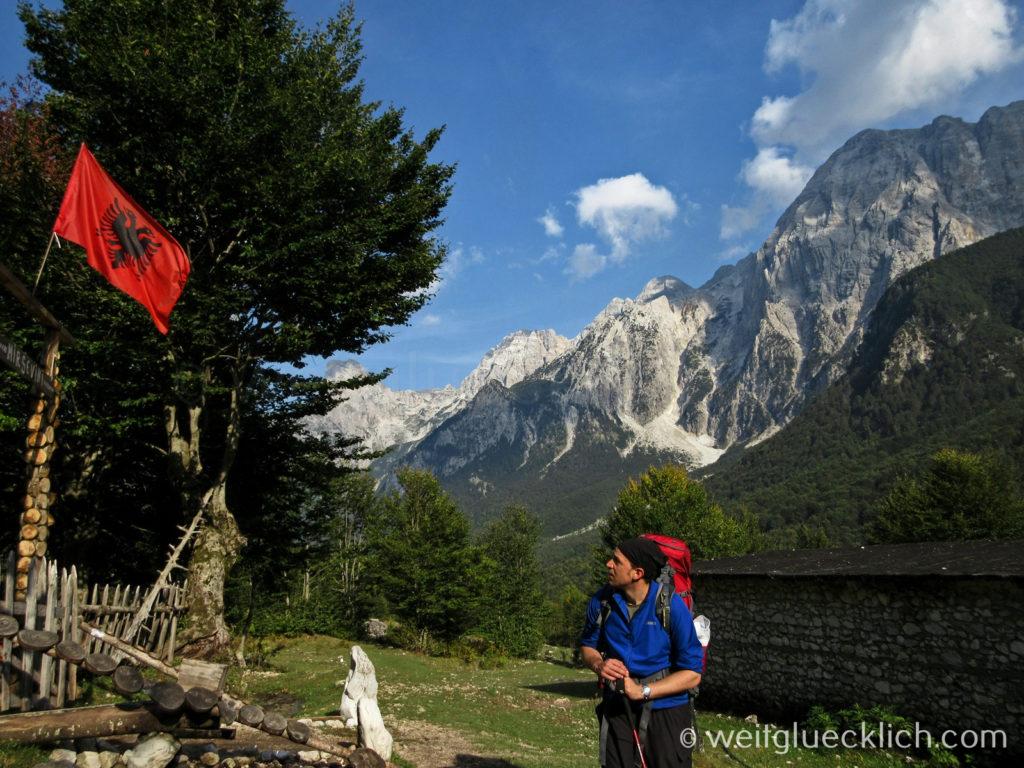 Peaks of the Balkans Albanien Valbona wandern