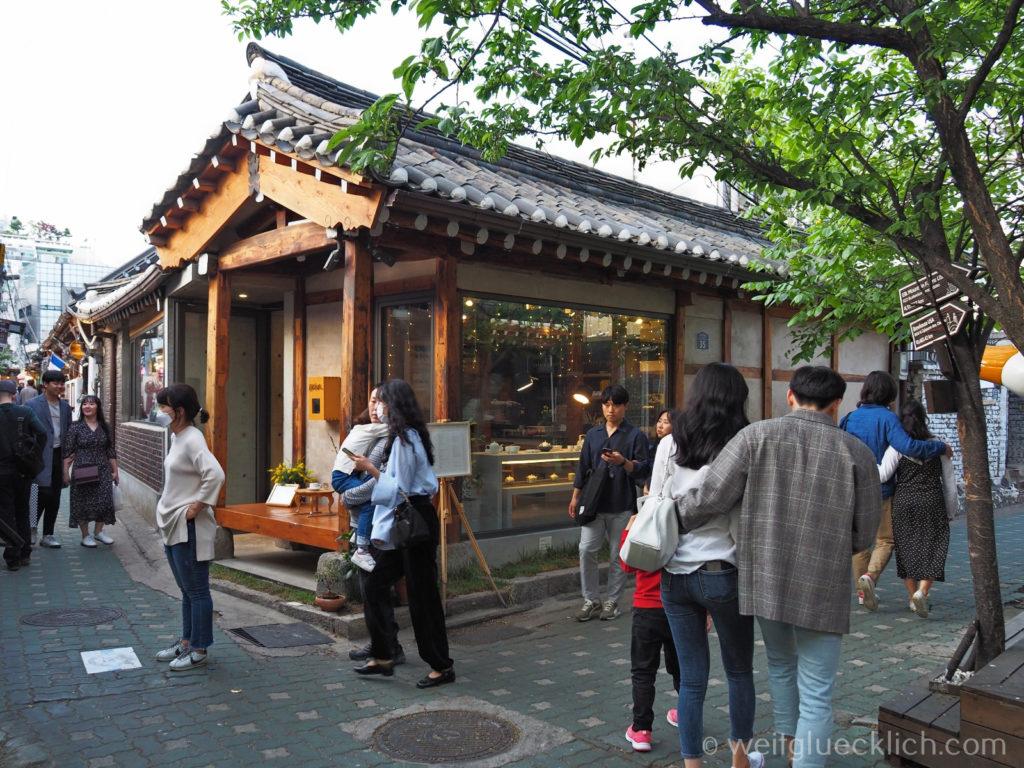Weltreise 2020 Suedkorea Seoul Sightseeing Ikseon-dong Hanok Village