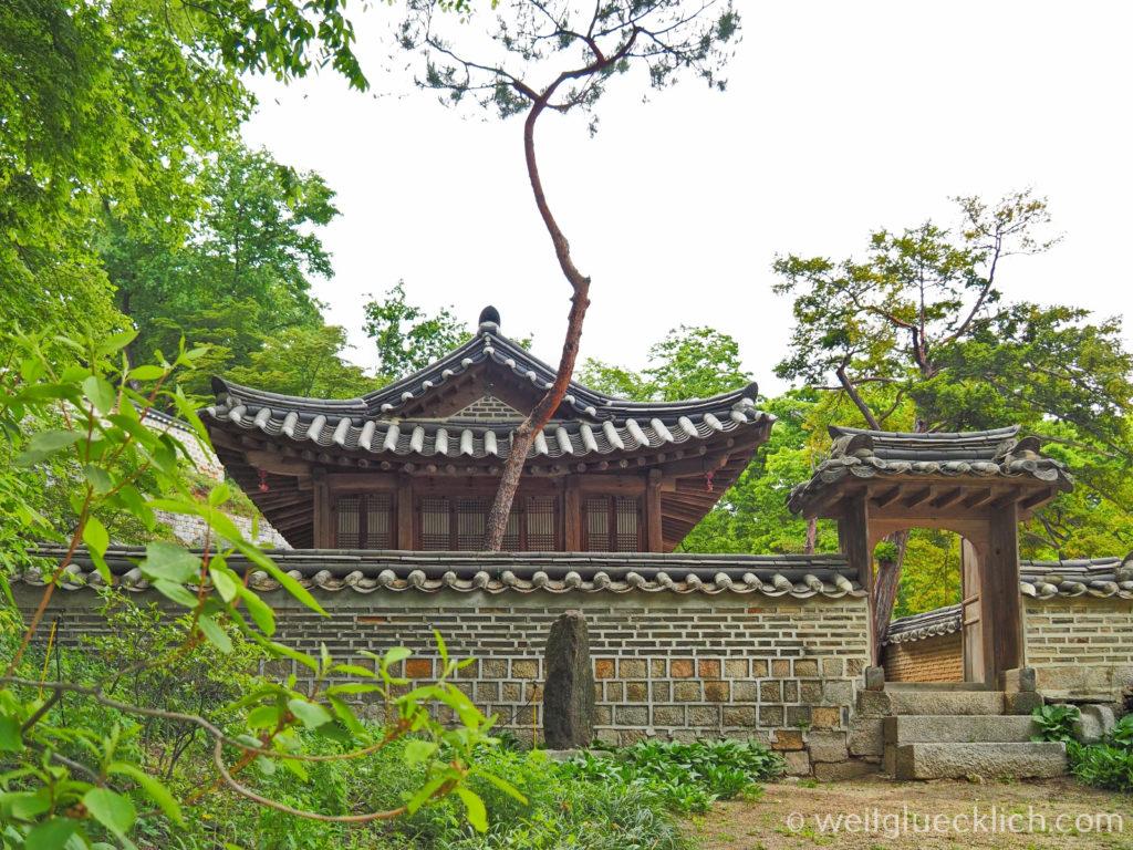Weltreise 2020 Suedkorea Seoul Sightseeing Changdeokgung Palast secret garden