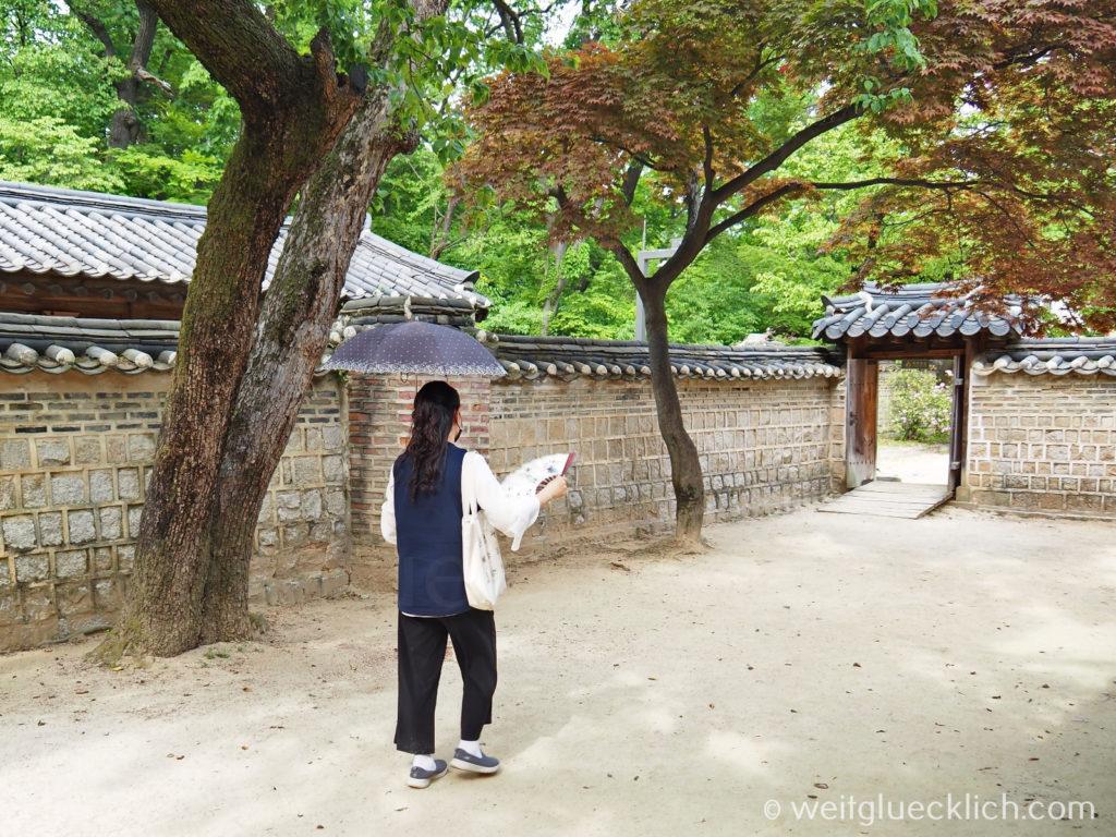 Weltreise 2020 Suedkorea Seoul Sightseeing Changdeokgung Palast