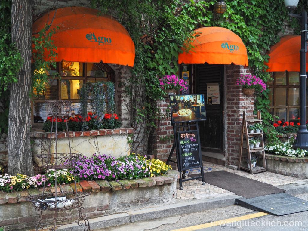 Weltreise 2020 Suedkorea Seoul Sightseeing Insa-dong Restaurant