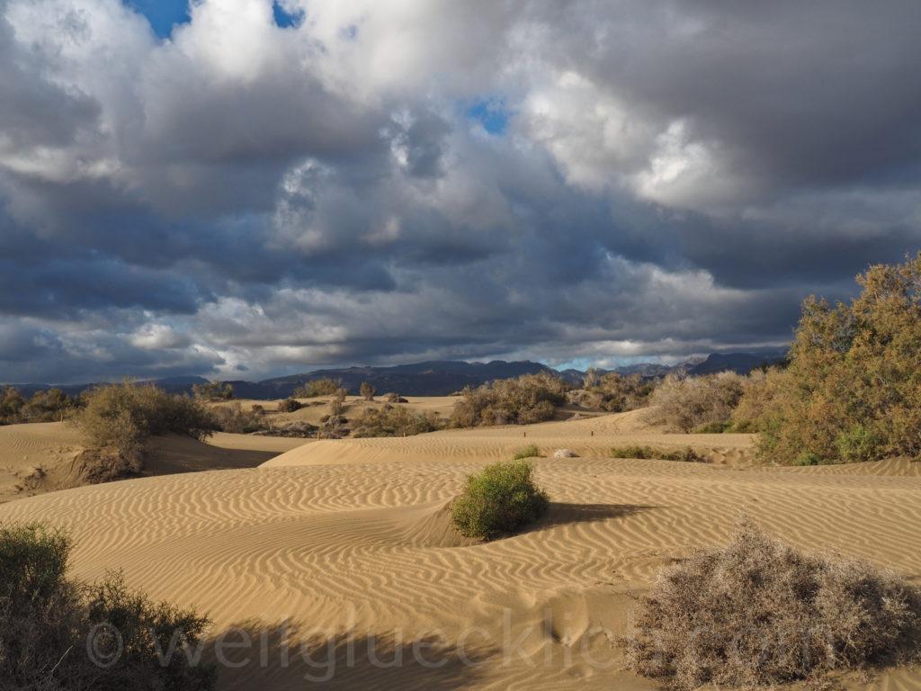 Weltreise 2020 Spanien Gran Canaria Duenen Maspalomas