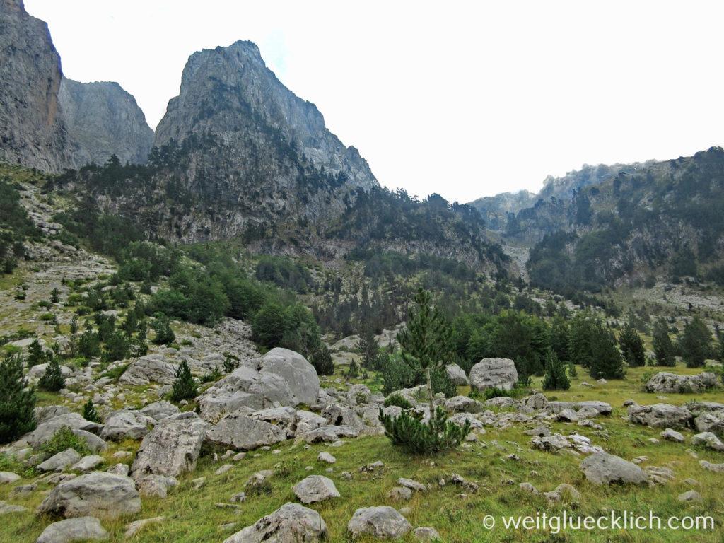 Peaks of the Balkans Prokletije Gebirge Albanien