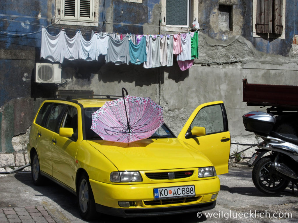 Montenegro Kotor Adria Strassenszene