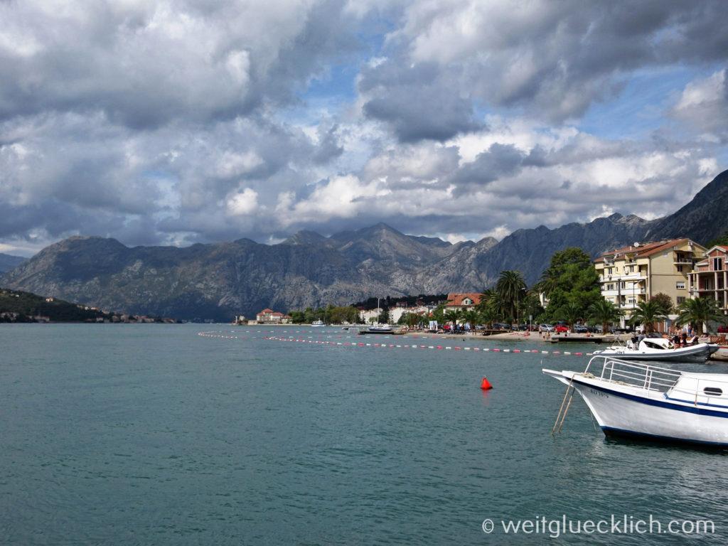 Montenegro Kotor Bucht Hafen Adria Fjord