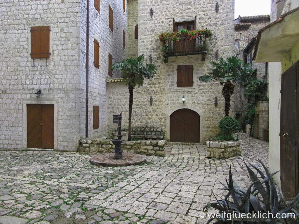 Montenegro Kotor Altstadt Stari Grad