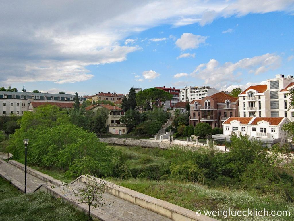 Montenegro Hauptstadt Podgorica Park