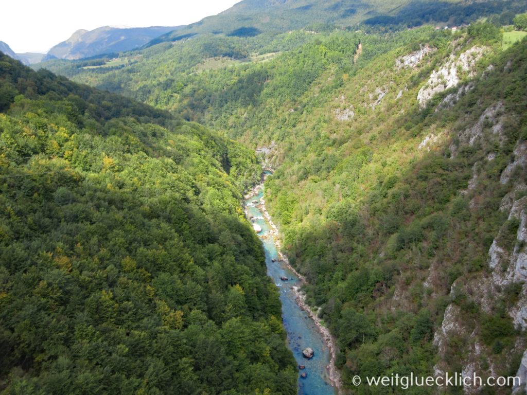 Montenegro Durmitor Nationalpark Tara Schlucht