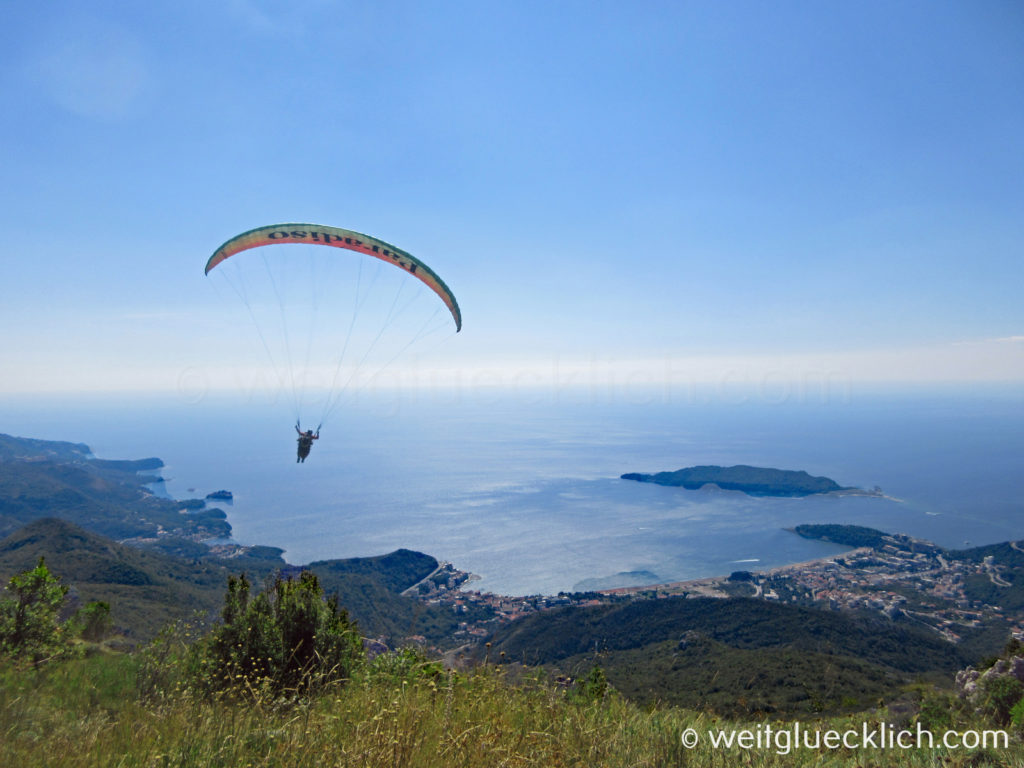 Montenegro Adria Budva Paragliding