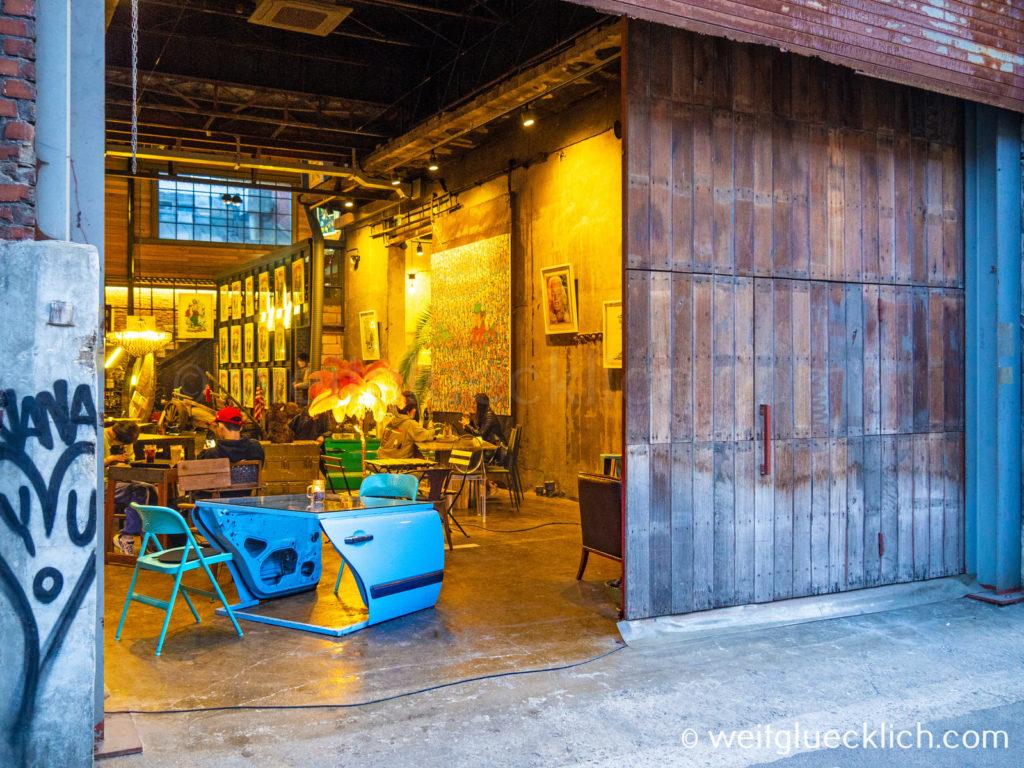 Weltreise 2020 Suedkorea Seoul Seongsu-dong Brooklyn Daelim Warehouse Cafe