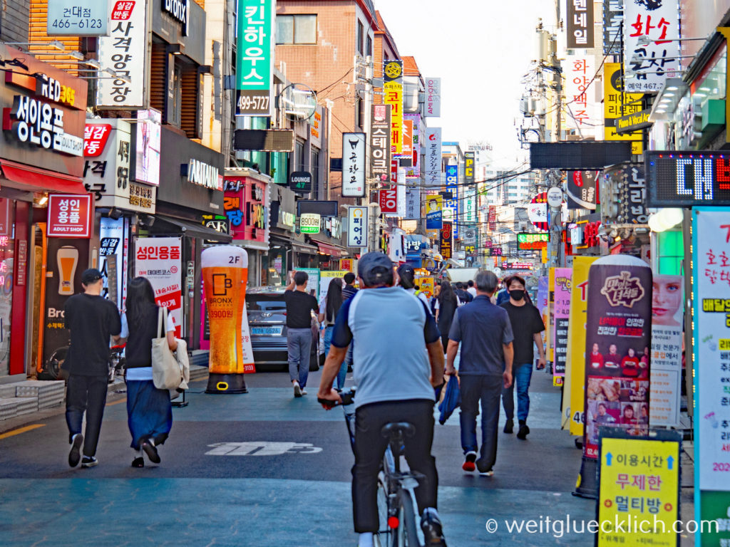 Weltreise 2020 Suedkorea Seoul Seongsu-dong Brooklyn Restaurants Bars Karaoke