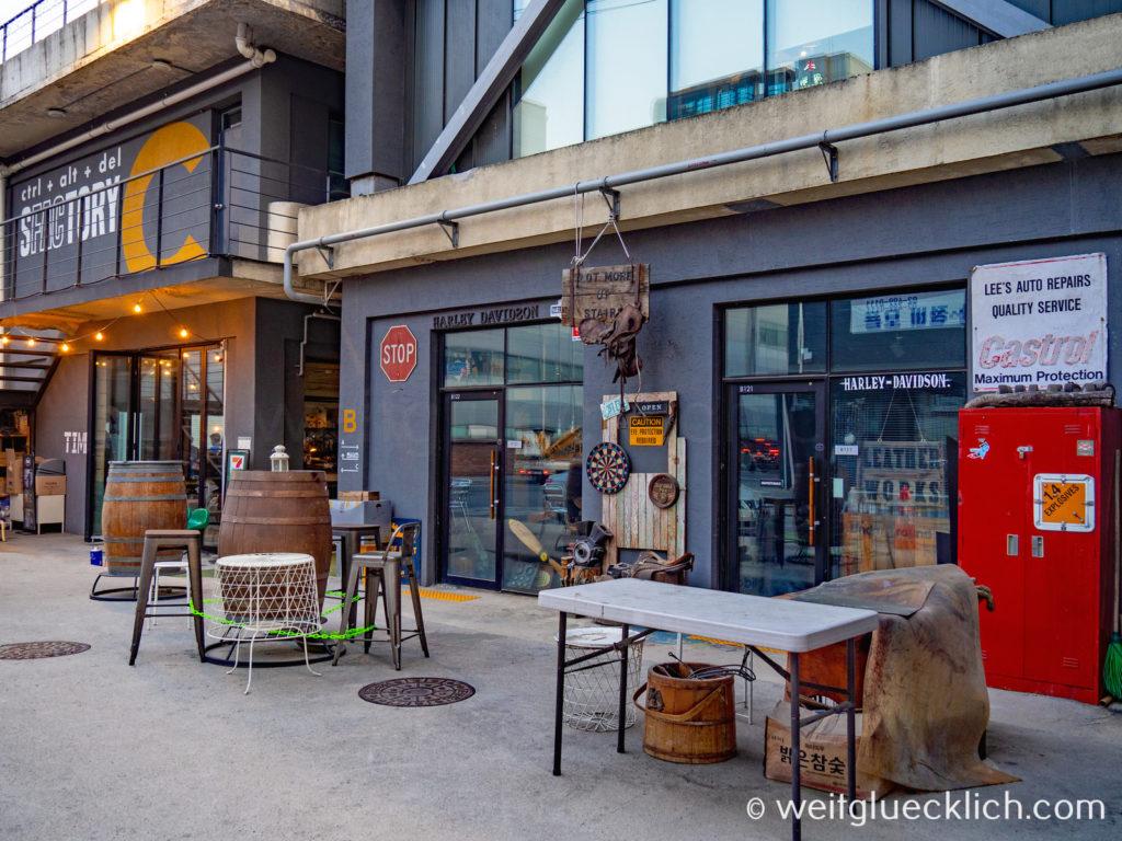 Weltreise 2020 Suedkorea Seoul Seongsu-dong Brooklyn second hand shopping