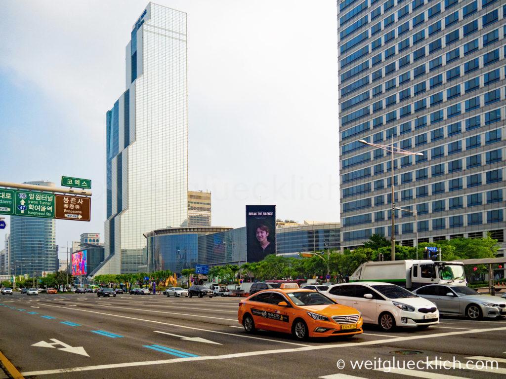 Weltreise 2020 Suedkorea Seoul Gangnam-gu COEX Mall World Trade Center