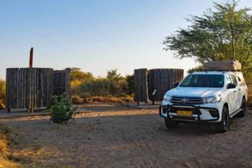 Weltreise 2021 Botswana CKGR Campsite Deception