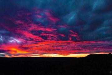 Weltreise 2021 Namibia Fish River Canyon Sonnenuntergang